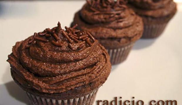 Cupcakes με σοκολάτα από  την Luise και το radicio.com!
