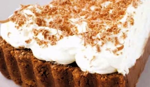 Σοκολατένια τάρτα με ζαχαρούχο γάλα, από το icookgreek.com!