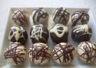 Cake pops με κουβερτούρα και άσπρη σοκολάτα, ΧΩΡΙΣ ΓΛΟΥΤΕΝΗ, από το «Elena's taste» και το glouteni.gr!