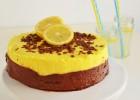 Τούρτα μους σοκολάτας και lemon curd- Chocolate and Lemon Curd Mousse Cake Recipe by Gabriel Nikolaidis and the Cool Artisan!
