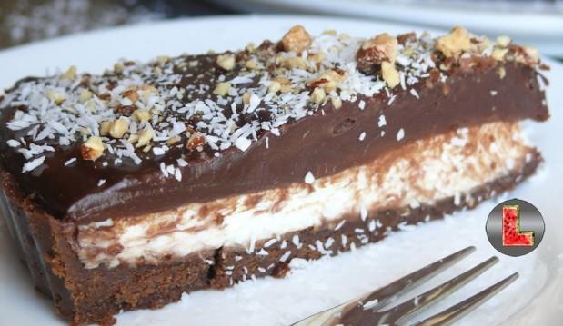 Τάρτα σοκολάτα- καρύδα, από την Ελευθερία Μπουτζα και το «Μαγειρεύοντας με την L»!