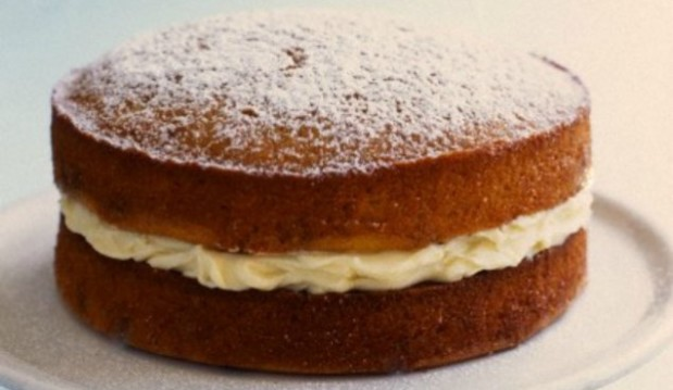 Κέικ βανίλιας με κρέμα λεμονιού, από το icookgreek.com!