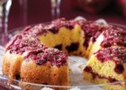 Κέικ πορτοκαλιού με raspberries από το sintayes.gr!