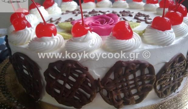 Τούρτα γενεθλίων Μαρασκίνο, από την Ρένα Κώστογλου και το koykoycook.gr!