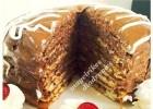 Τούρτα με Pancakes και γέμιση μερέντας από τις «Μαγειρικές Διαδρομές»!