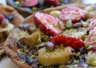 Γλυκές πίτσες με πραλίνα φουντουκιού, μπανάνα και φράουλα, από την εξαιρετική Ιωάννα Σταμούλου και το «Sweetly»!