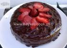 Υπέροχο Κέικ σοκολάτας ΧΩΡΙΣ ΑΥΓΑ-ΓΑΛΑ-ΒΟΥΤΥΡΟ, από την αγαπημένη Ρένα Κωστογλου και το koykoycook.gr!