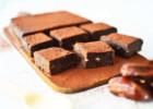 Ωμά, νηστίσιμα brownies με 3 μόνο υλικά – Raw, Vegeterian, Date brownies (3 ingredients) by Gabriel Nikolaidis and the Cool Artisan!