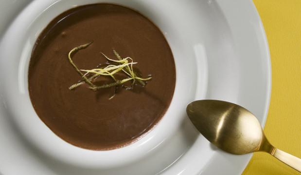 Κρέμα σοκολάτα με γιαούρτι, από τον Στέλιο Παρλιάρο!