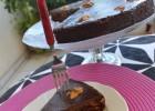 Cake σοκολάτας με μπίρα, σύκα και καρύδια, από την Ιωάννα Σταμούλου και το Sweetly!