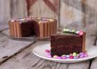 Τούρτα σοκολάτα με Kit Kat από τον Άκη Πετρετζίκη, και τις glikessintages της Nestle!