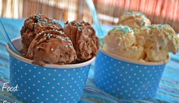 Πανεύκολο παγωτό με  3 ΥΛΙΚΑ χωρίς παγωτομηχανή,  από το foodstates!
