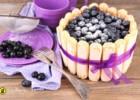 Σαρλότ με ανθότυρο γιαούρτι και blueberries, από τον Giorgio και το gourmed.gr!