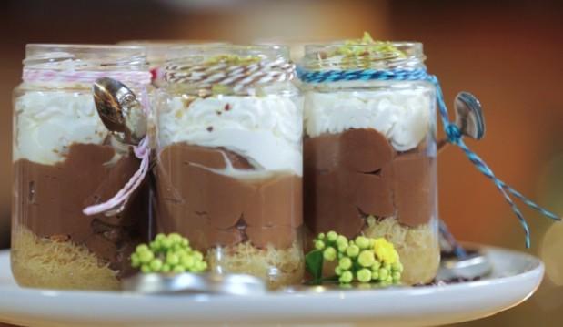 Σοκολατένιο εκμέκ κανταϊφι, από τον Chef Kωστή Κωστάκη και το «chef στον αέρα»!