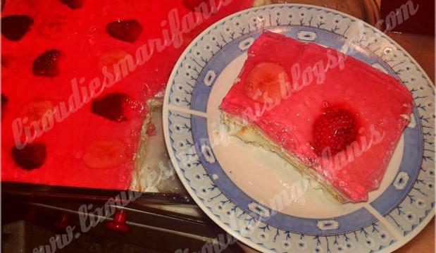 Ζελέ με κρέμα και μπισκότα, από τη Μαριφάνη Ξανθάκη και τις «Λιχουδιές της Μαριφάνης»!
