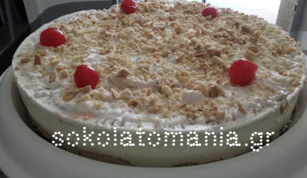 Πανεύκολη, απίθανη τούρτα-παγωτό με αμύγδαλο από το sokolatomania.gr!