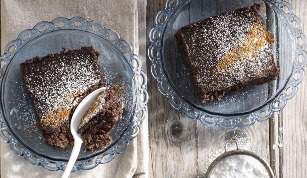Σοκολατένια Γαλατόπιτα- Chocolate Milk Pie by Akis and akispetretzikis.com!