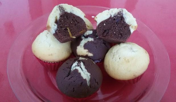 Muffins με κρέμα γάλακτος & κακάο, από την Ηλέκτρα Μαραγκουδάκη και το Electra's sweetchen!