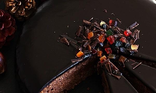 Κέικ με κάστανα, αμύγδαλα και σοκολάτα, από την Αλίκη και το «Μυρωδιές και νοστιμιές»!
