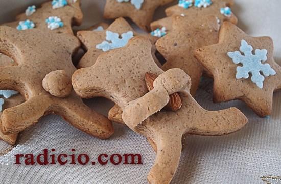 Μπισκότα τζίντζερμπρεντ (gingerbread), από την Luise και το Radicio.com!