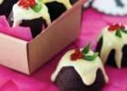 Χριστουγεννιάτικες μίνι σοκολατένιες πουτίγκες, από το sintayes.gr!