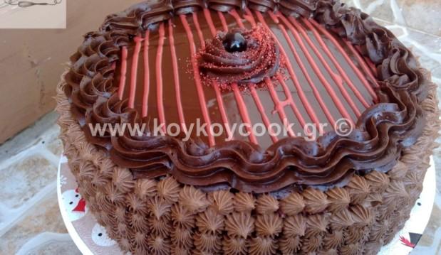 Τούρτα γενεθλίων σοκολάτα-πραλίνα, από την αγαπημένη Ρένα Κώστογλου και το koykoycook.gr!