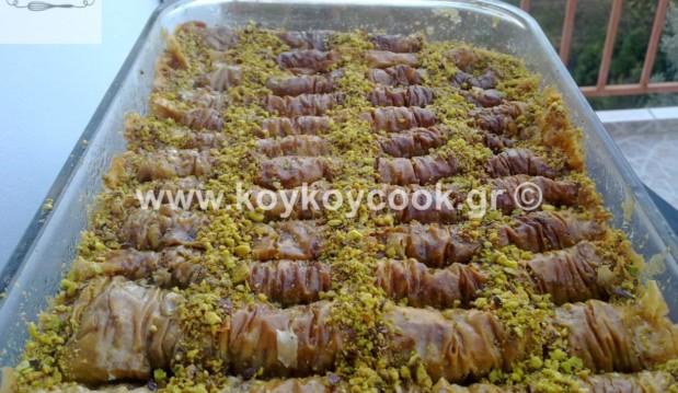 Σαραγλί με φυστίκι Αιγίνης , από την αγαπημένη μας Ρένα Κώστογλου και το koykoycook.gr!