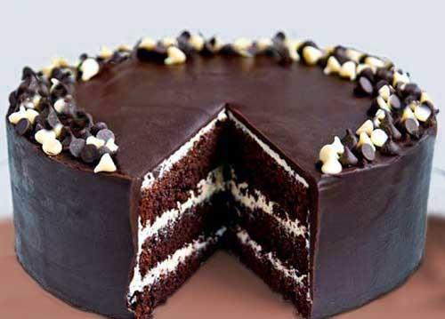 Τούρτα σοκολάτα με βουτυρόκρεμα σοκολάτας, από την Luise και το  radicio.com!