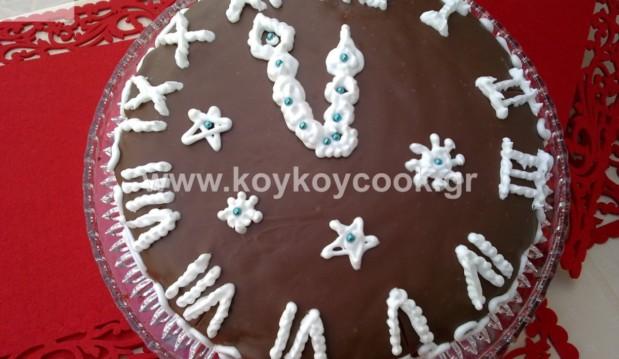 Βασιλόπιτα με καρύδια και σοκολάτα, από την Ρένα Κώστογλου και το  koykoycook.gr!
