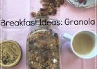 Granola με φυστίκι Αιγίνης και Cranberries, από την Φαίδρα και το phaedralovesthis.com!
