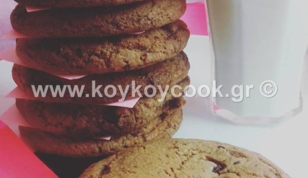 Υπέροχα Boston chocolate chip cookies, από τη Ρένα Κώστογλου και το koykoycook.gr!