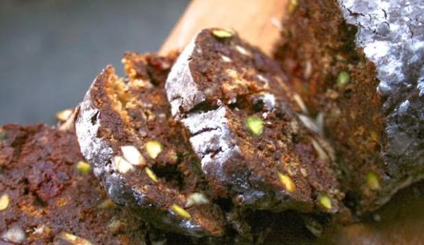 Σαλάμι σοκολάτας (με κουραμπιέ, μελομακάρονο και ό,τι έμεινε), από την Αργυρώ μας!