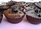 Ονειρεμένα σοκολατένια ταρτάκια με γκανάς και βύσσινα, από την αγαπημένη Ρένα Κώστογλου και το Koykoycook.gr!
