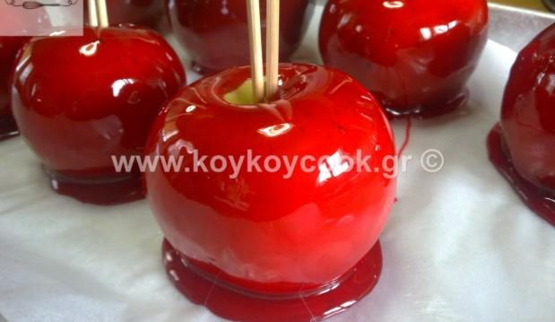 Υπέροχα καραμελωμένα μήλα, από την αγαπημένη Ρένα Κώστογλου και το Koykoycook.gr!