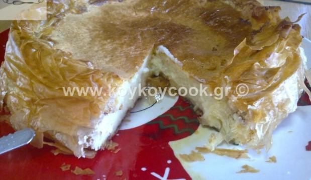 Υπέροχη γαλατόπιτα φωλιά με φύλλο, από την αγαπημένη Ρένα Κώστογλου και το koykoycook.gr!