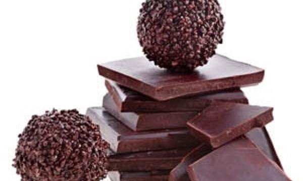 Τρουφάκια σοκολάτας νηστίσιμα, από το sintayes.gr!