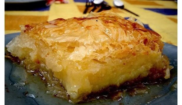 Γαλακτομπούρεκο με στέβια, από την Μαρία Κούρτη και το syntagesgiadiabitikoys.blogspot.gr!