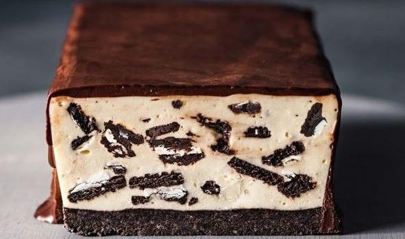 Κορμός cheesecake με oreo από το sintayes.gr!