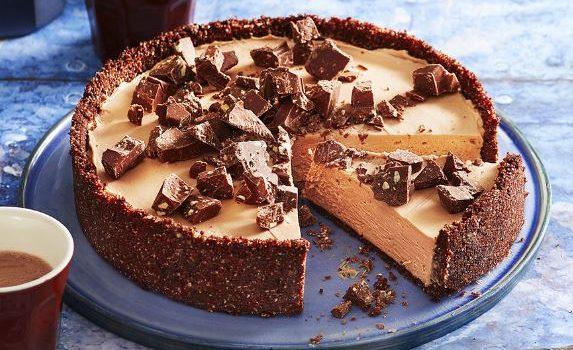 Cheesecake Toblerone χωρίς ψήσιμο, από το sintayes.gr!