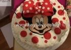 Τούρτα Γενεθλίων Minnie Mouse φράουλα -σοκολάτα , από την αγαπημένη μας Ρένα Κώστογλου και το koykoycook.gr!