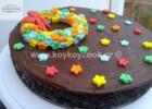 Νηστίσιμη τούρτα σοκολάτα με μπισκότα χωρίς ψήσιμο, από την αγαπημένη μας Ρένα Κώστογλου και το koykoycook.gr!