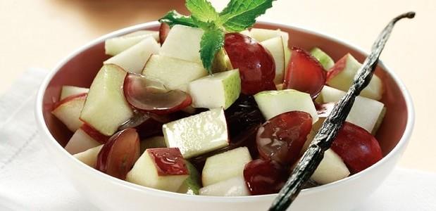Φρουτοσαλάτα με άρωμα βανίλιας για διαβητικούς, από τον Παθολόγο – Διαβητολόγο Dr. Lindberg-Χατζηπαναγιώτου και το Glykouli.gr!