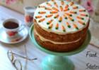 Φανταστικό κέικ καρότου με γλάσο κρέμας τυριού, από την Δήμητρα και τον Λευτέρη του foodstates.gr!