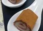 Nηστίσιμο ρολάκι με αμυγδαλόπαστα, μαρμελάδα φράουλα και κακάο, από τον Μιχάλη Σαράβα και το ionsweets.gr!