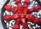 Τάρτα σοκολάτας χωρίς ψήσιμο με oreo cookies και φράουλες, από την αγαπημένη  Ρένα Κώστογλου και το koykoycook.gr!