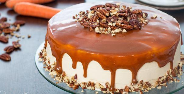 Η τέλεια τούρτα καρότου με επικάλυψη καραμέλας (Video), από το sintayes.gr!
