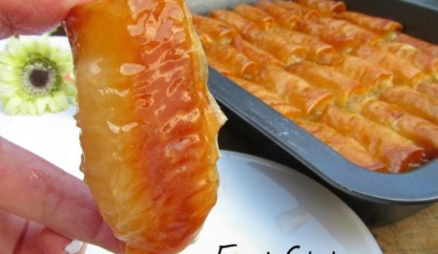 Γαλακτομπούρεκο σε ρολάκια, από την Δήμητρα και τον Λευτέρη του foodstates.gr!