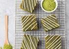 Λευκά brownies με πράσινο τσάι, από την Νικολέτα Τζηρίνη και το thinkdrops.gr!