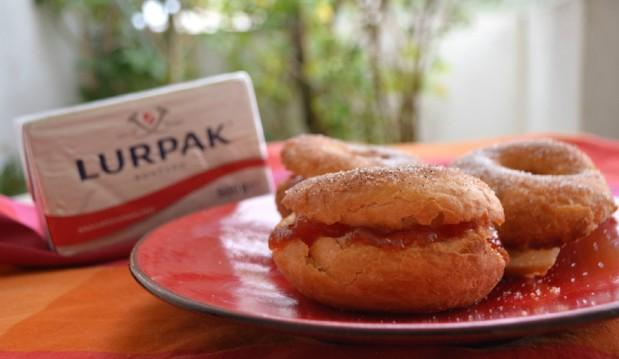 Ντόνατς φούρνου, από την Ιωάννα Σταμούλου και το sweetly!