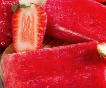 Γρανίτα φράουλα σε ξυλάκι, από τον Δημήτρη Χρονόπουλο και το olivemagazine.gr!